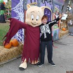 Me With Porky Pig As A Ghost.