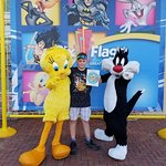 Me Taking A Picture With Sylvester & Tweety.