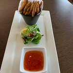 Crispy Whitebait served with dipping sweet chilli sauce