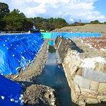 駿府城の発掘作業 / Excavating work at Sumpu Castle