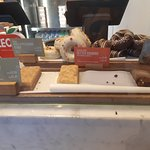 Desserts options, some vegan, from the South Kensington location
