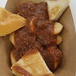 Currywurst from Vincent Vegan