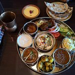 The overpriced lunch thali