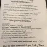 Restaurant des Sources resmi