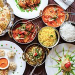 Mixture of the popular dishes avaliable