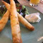 Mangal Holzkohle Restaurant Leer Foto