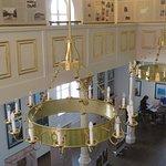 Synagogue in Lenava, part of exhibition