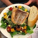 Grilled Salmon Salad (14SGD)