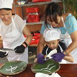Visiting organic Farm and make traditional candy together