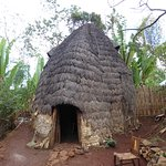 Typical Dorze house in small village near to Arba Minch, visited with Quest Ethiopia Tours. We too part in traditional cotton spinning and tasted delicious locally made kocho bread (made from fakse banana), honey and araki. Well worth a visit!