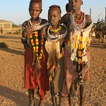 Hamer boys, village camping with Quest Ethiopia Tours.