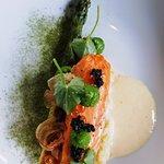 Saumon et asperge