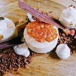 Dessert rubarbe