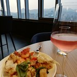 Executive lounge - evening food