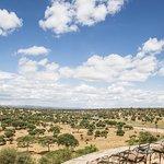 The Vie from Tarangire Safari Lodge - Tarangire National Park. Tanzania Safari - Features Africa Journeys