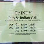 Fotografie: Dr. INDY Pub & Indian Grill
