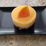 Bavarois orange sanguine