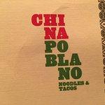 China Poblano Noodles and Tacos