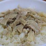 郭家雞肉飯口味較清爽,油蔥味不會太重。