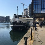 Boat on Ipswich Quay