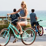 Cruise down the Beach today with one of our top of the line Beach Bicycle Rentals.