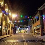 """Part of the route for the ghost tour.  Bisbee was a great place for a night time """"ghost tour""""."""