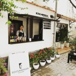 Photo of Bougainvillea coffee stand