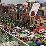 Just part of our 2 million pieces of LEGOs.