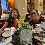 Tea at the Brown Palace