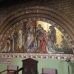 Beautiful mosaic in the Lady Chapel