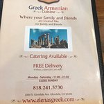 Photo de Elena Greek Armenian Cuisine