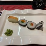 Appetizer at the Japanese al a carte