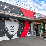 American Icon's distinctive Jim Morrison building