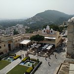 View from the top at Bada Mahal