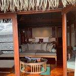Our bedroom through the patio door