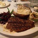 Grilled Mahi Mahi with Lobster Slaw