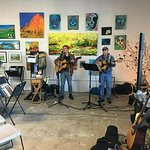 We often have live music for events!