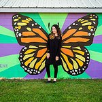 Visit the beautiful Murals in Bombardier Park! MAG with the help of a community promise grant had Jon Young design these murals and on 6/23/18 the community gathered to paint them in! Come #BetheMAGnificentMonarch !