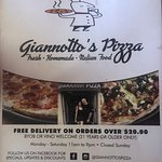 Foto de Giannotto's Pizzaria