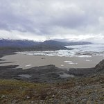 Hoffellsjokull Glacier-billede