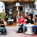 Welcome to Café Paracas!  We have a great orgánic peruvian Coffee, homemade desserts, delicious sandwiches and a lot of good vibes :)