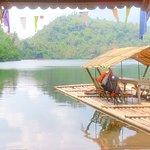 Pandin lake. Waiting