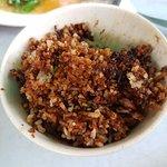 Love the slightly burnt rice!
