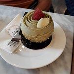 pistachio and white chocolate