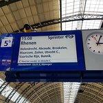 Spoor 5b op Amsterdam CS.