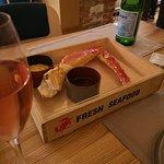 Wine & Crab Foto