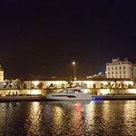 Ciudad antigua desde el restaurante Rausch en centro de convenciones