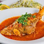 Lamb Shank With Baghela Polow