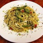 Pasta alla Pesto (Fusion)