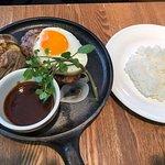 つばめ風ハンブルグステーキ+ライス